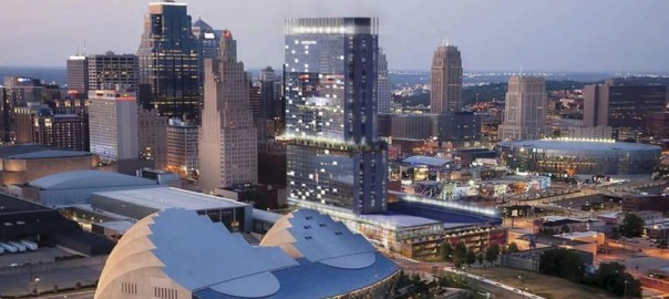 Proposed Hyatt Hotel near Kansas City Convention Center