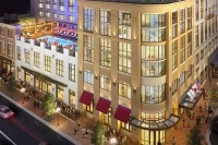 Pendry hotel San Diego Architectural Rendering