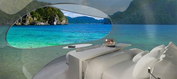 pod hotel room of the future