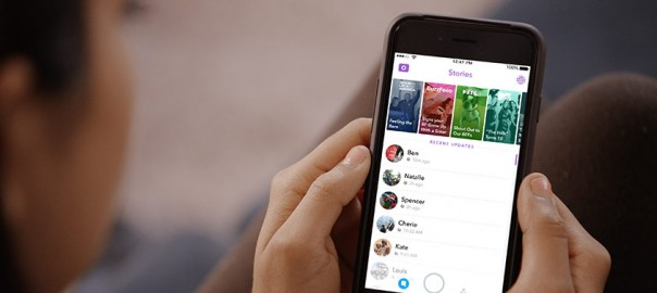 snapchat and instagram to promote events
