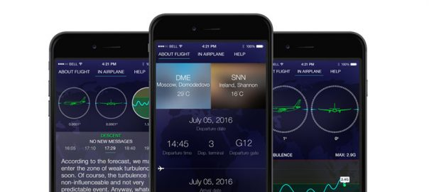 SkyGuru provides real-time explanation and what to expect during your flight.