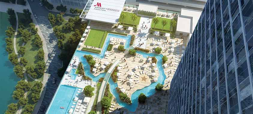 marriott-marquis-houston-lazy-river-outdoor-pool