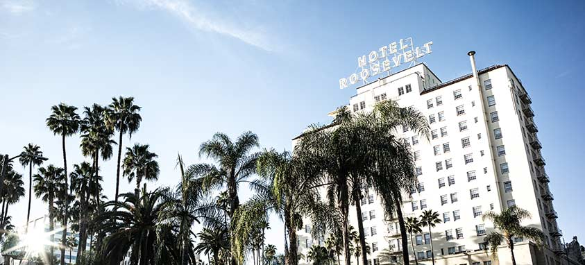 Glamour Hollywood Hotels