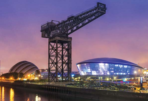 SSE Hydro arena, Glasgow, Scotland
