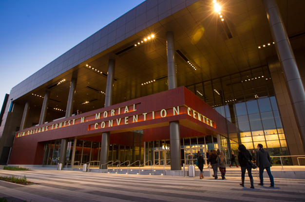 New Orleans Ernest N Morial Convention Center Smart Meetings: Map New Orleans Morial Convention Center At Usa Maps