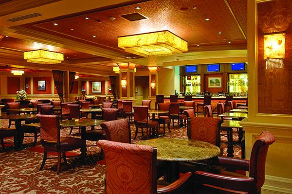 Push bar horseshoe casino