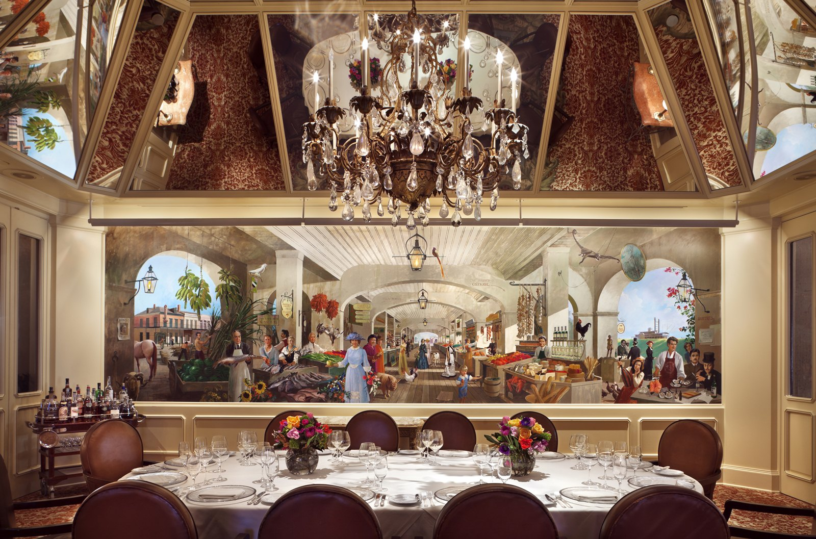 Windsor court hotel new orleans smart meetings for Best private dining rooms new orleans