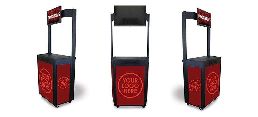 amplivox debuts mobile event booth smart meetings. Black Bedroom Furniture Sets. Home Design Ideas