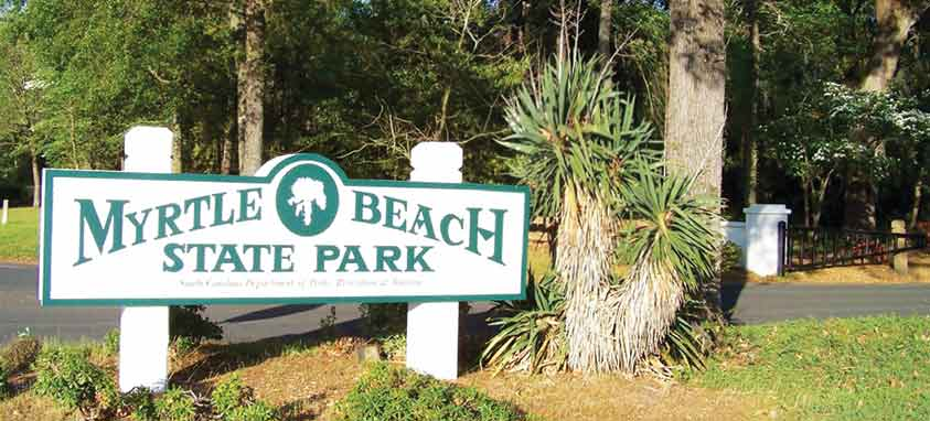 Campgrounds South Of Myrtle Beach Gardens