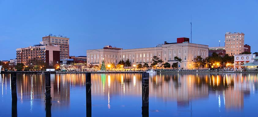Convention Center Hotel Downtown Wilmington North Carolina
