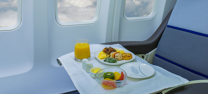 Myths About Airline Food