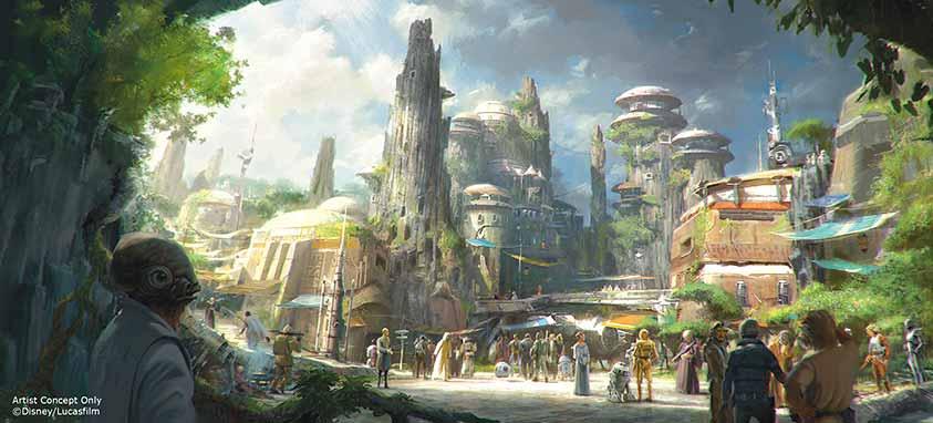Star-Wars-Land-Concept-Art-new-disney-attractions