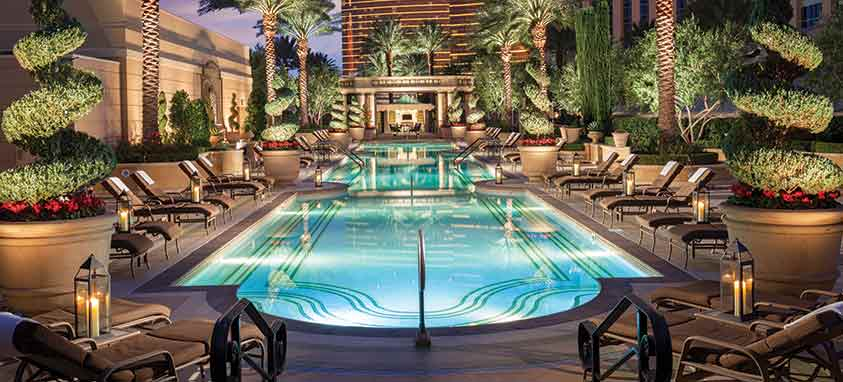 Sands expo center the venetian and the palazzo las vegas for Pool show in las vegas