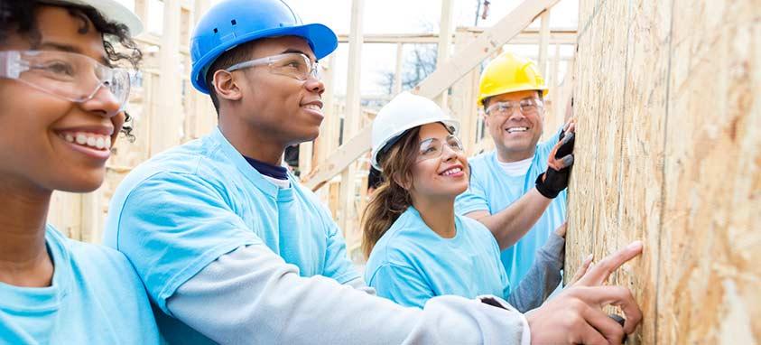 philanthropic team building activity