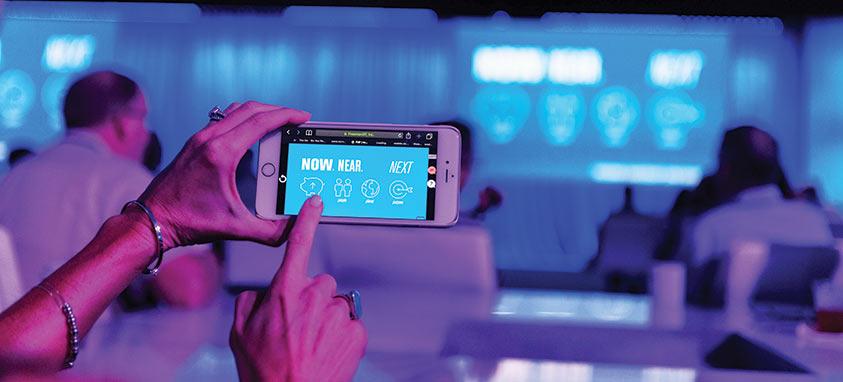 FXP Touch event presentations technology