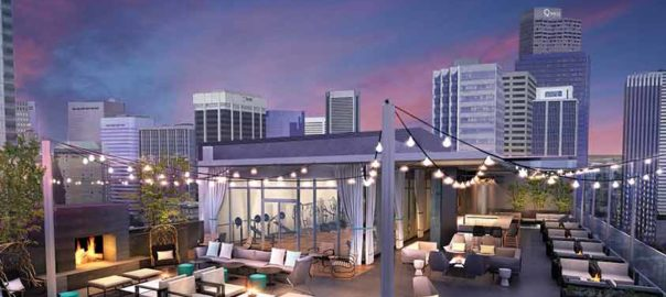 Amenity Deck at Le Meridien/AC Hotel Denver Downtown