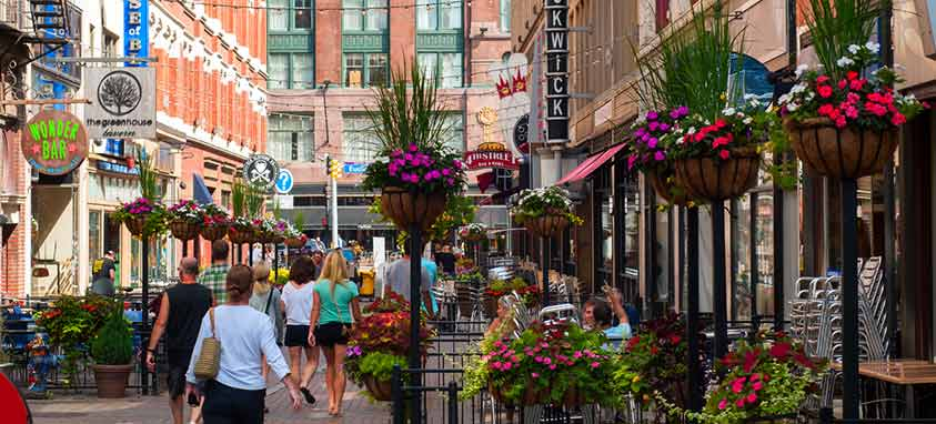 Cleveland best cities for business travel