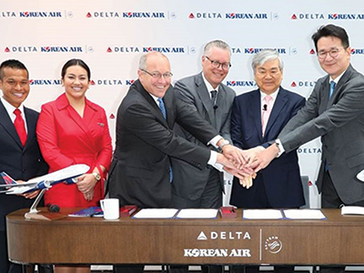 Delta Air Lines and Korea Air