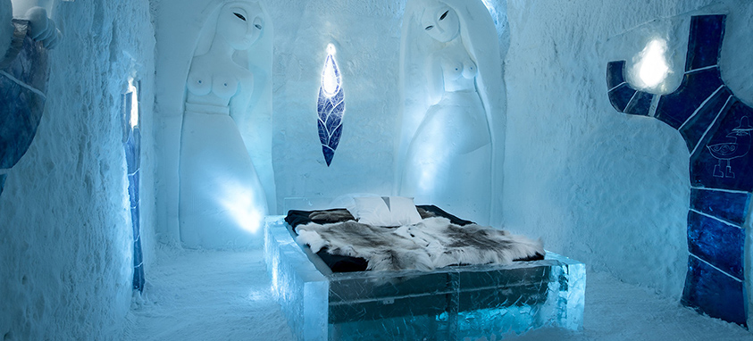 15 New ICEHOTEL Art Suite Designs