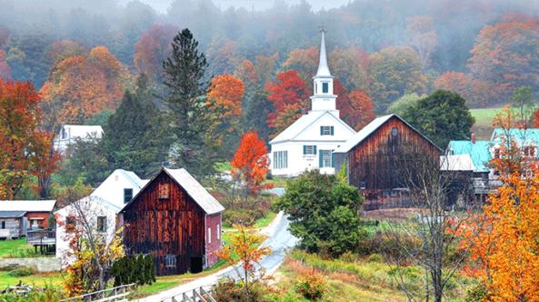top 5 foliage destinations