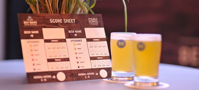 Four Points Searches for the World's Best Beer
