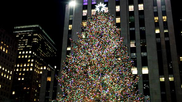 tree christmas lighting